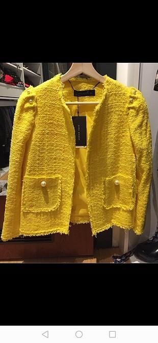 Zara ceket yeni ve etiketli