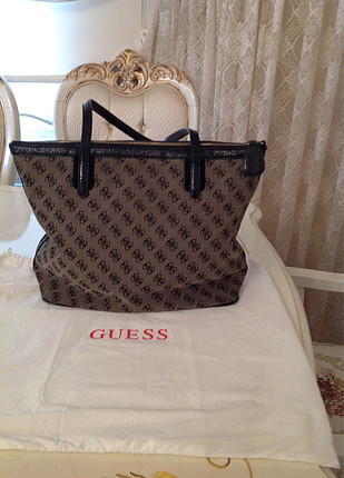 universal Beden siyah Renk Guess çanta