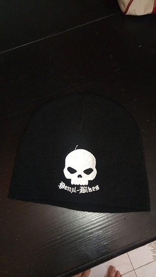 harley davidson şapka, bere,siyah